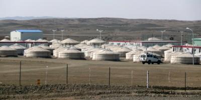Oyu Tolgoi camp