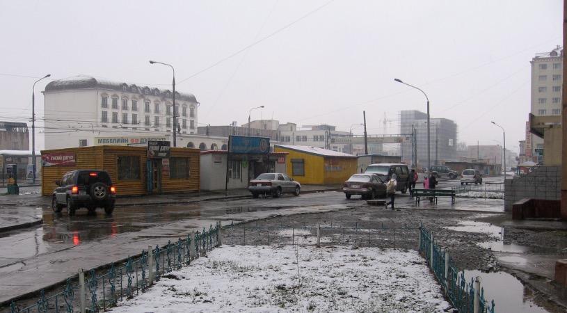 Ulaanbaatar snow