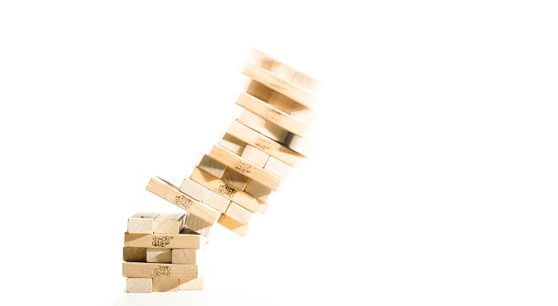 Jenga blocks