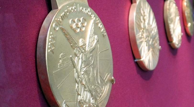 Olypmic Medals by James Cridland
