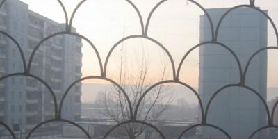 Ulaanbaatar winter view
